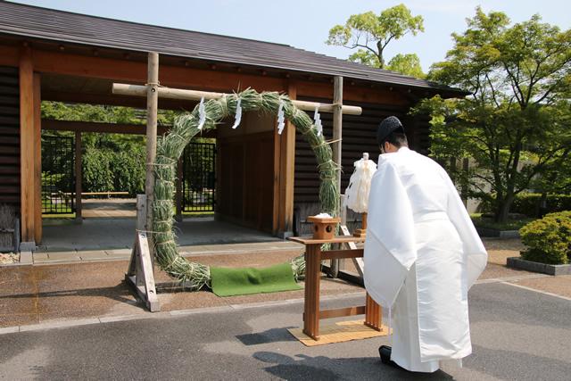 くぐり 京都 茅の輪 「夏越祓」で茅の輪くぐり|リビング京都